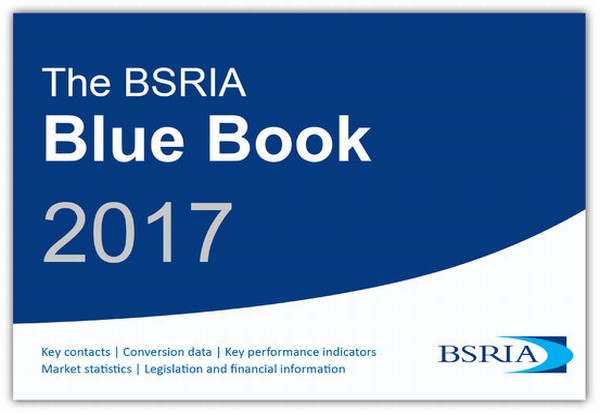 BSRIA launches Blue Book 2017