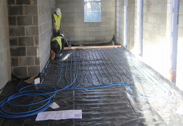 Underfloor heating system dontaed for Royal Marine's accessible new home
