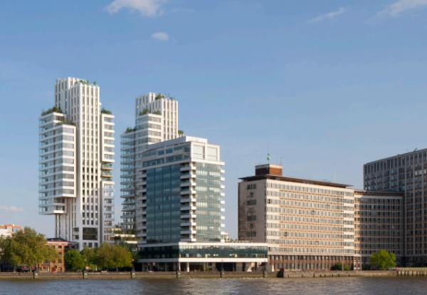 Go-ahead for London Albert Embankment twin towers