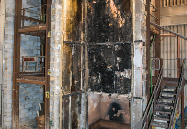 Phenolic foam board cladding system fails fire test