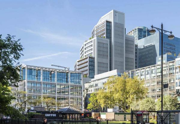 Plans in for major London City fringe offices