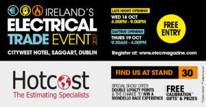 Hotcost - Social media invite post - Elect Show 17 - 2