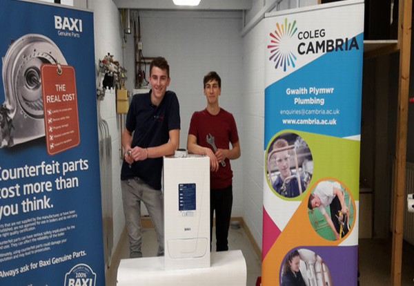 Baxi donates boilers to college