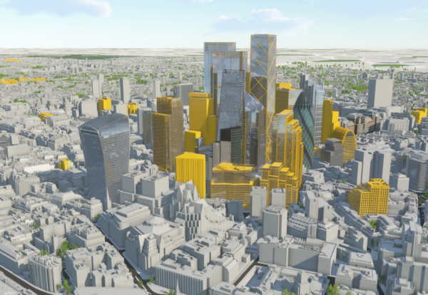 More than 500 towers planned for London