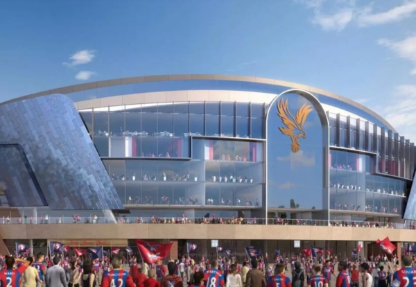 Crystal Palace to start £100m main stand next summer