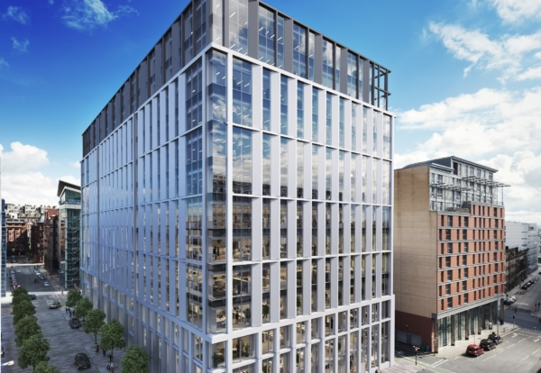 Designs revealed for £100m Glasgow office complex