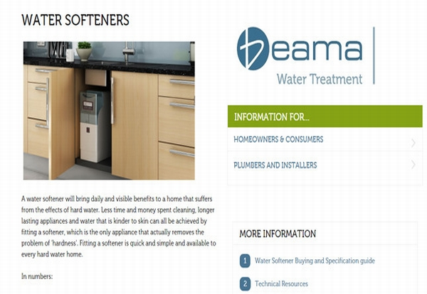 BEAMA launches online water softener resources