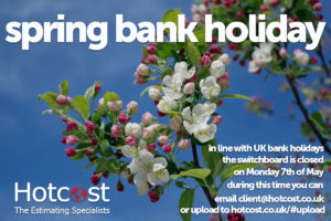 Spring Bank Holiday - May 2018