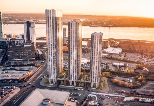 Vermont lands first tower at £250m Liverpool site