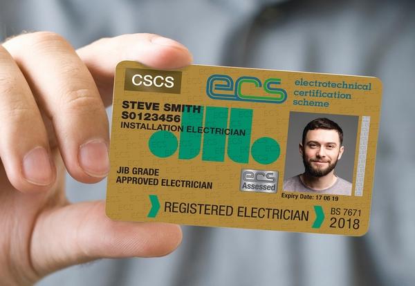ECS Registered Electrician reaches 10,000 milestone