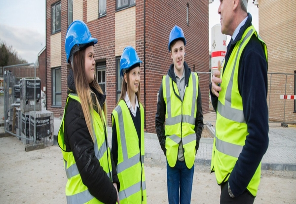 Young people encouraged to get on board by 85% of construction industry