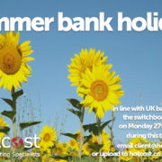 Summer Bank Holiday - August 2018 1