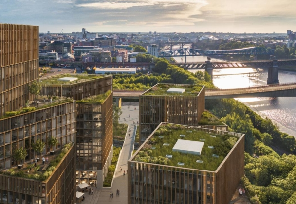 Plan for £250m urban village on Newcastle Quayside