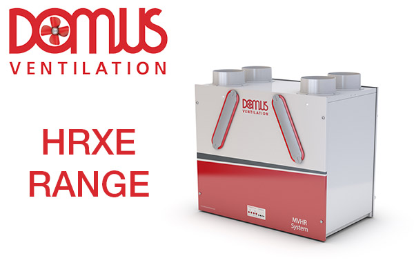 New energy efficient Domus Ventilation MVHR wall units launched