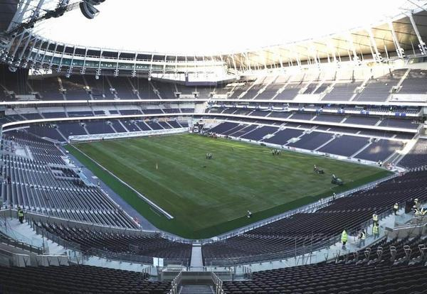 Spurs still doesn't know when builders will finish new stadium