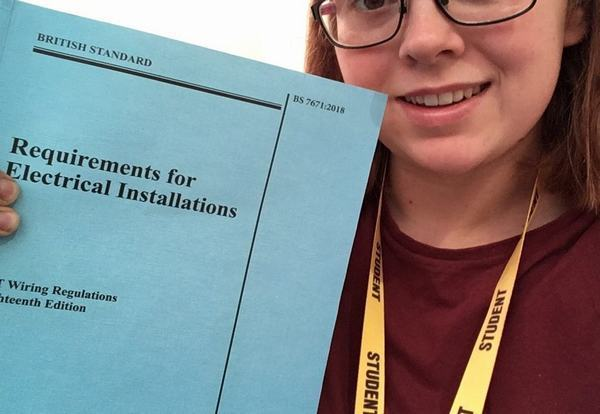 Bursary helps more woman in to electrical industry