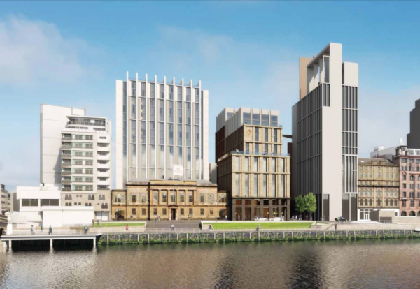 £90m Glasgow waterfront hotel approved