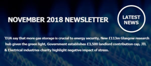 November 2018 Newsletter Main Image