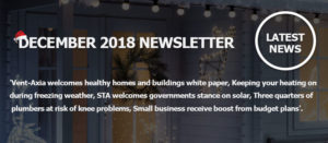 December 2018 Newsletter Main Image