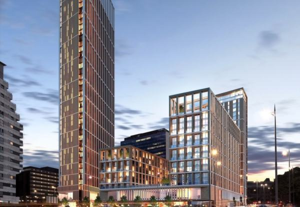 Funding deal for landmark Birmingham resi tower