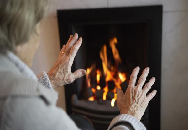 The FPS urges people over 75 to sign up to cold weather priority initiative