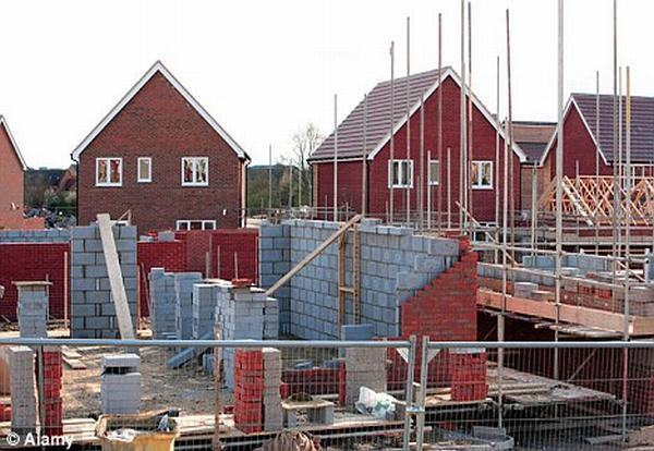 Britain heads for worst house building decade since 1940s