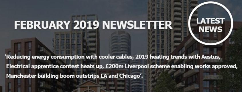 February 2019 Newsletter Main Image