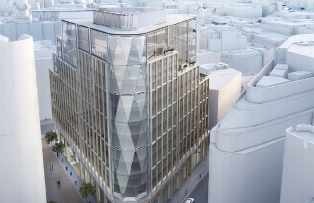 Green light for landmark London office job