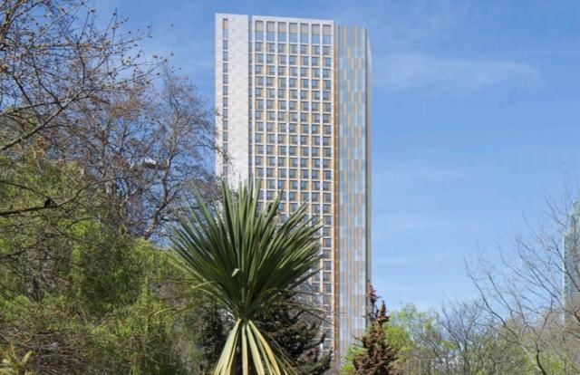 Downing starts £250m London student tower