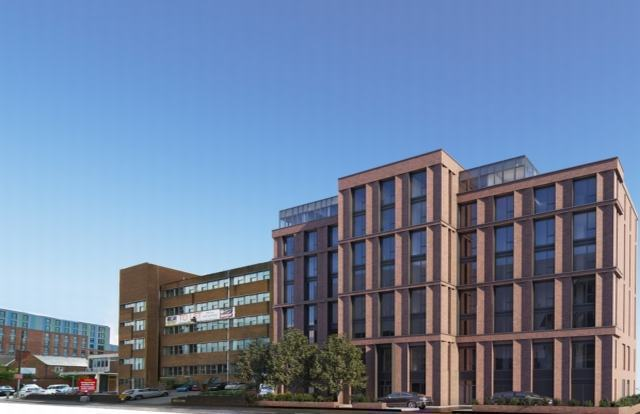 Go-ahead for eight storey student scheme in Derby