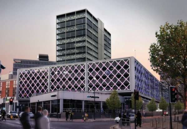 Leeds Merrion Centre 17 storey office block approved