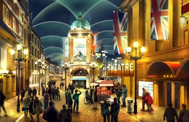 Radisson backs £5bn Kent theme park with hotel plan