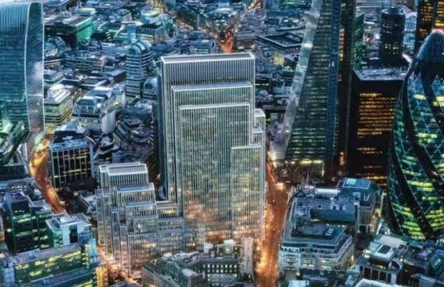 Start date for £1.4bn London Gotham City offices