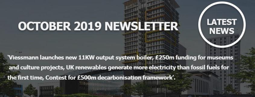 October 2019 Newsletter Main Image