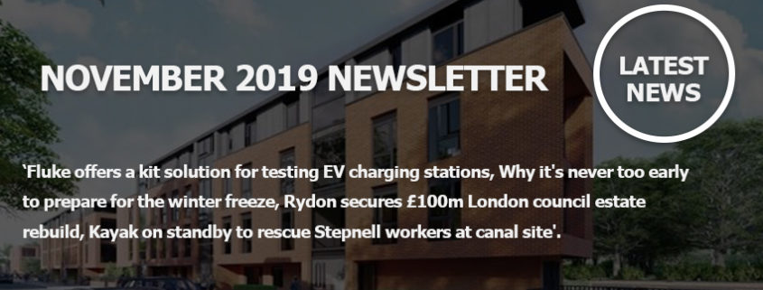 November 2019 Newsletter Main Image