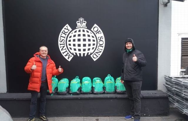 Wilo provides rucksacks for London's homeless