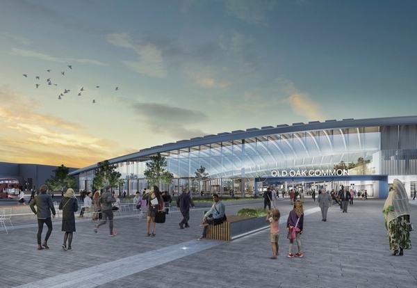 Plans go in for HS2 Old Oak Station