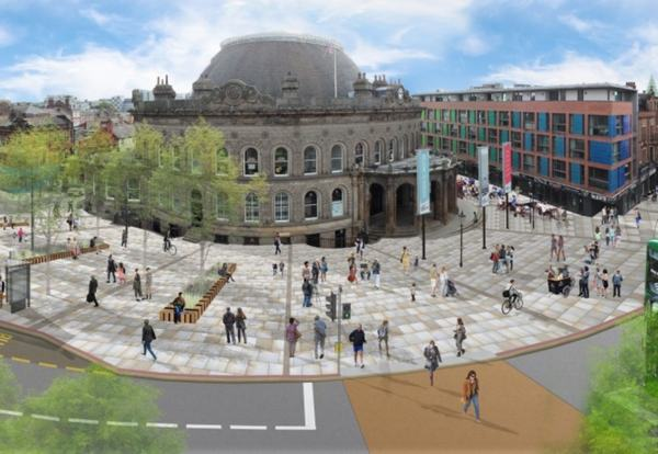 Sisk wins £21.5m deal to upgrade Leeds Corn Exchange area