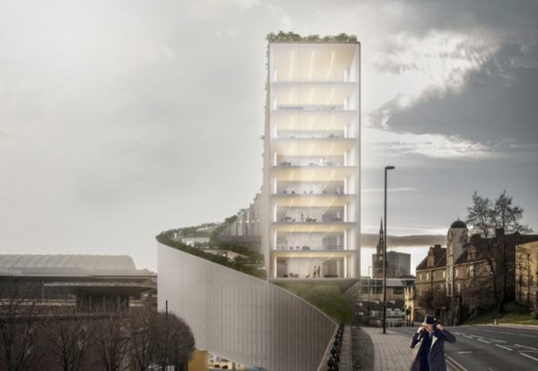 Eye-catching Newcastle office plan