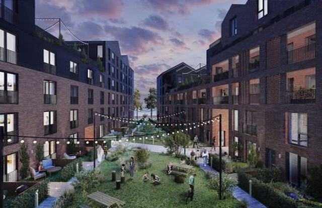 Plan for 350-home Wolverhampton canal quarter